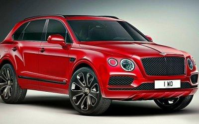 Представлена новая версия кроссовера Bentley Bentayga