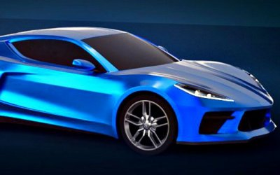 Chevrolet Corvette оснастят активным сплиттером