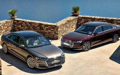 Кнам приедет дизельный Audi A8