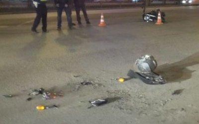 В Екатеринбурге после ДТП мотоциклист впал в кому