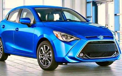 Обновлён хэтчбек Toyota Yaris