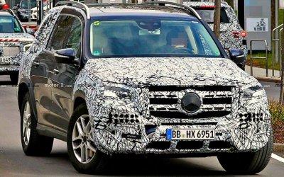 Новый Mercedes-Benz GLS будет самым дорогим кроссовером марки