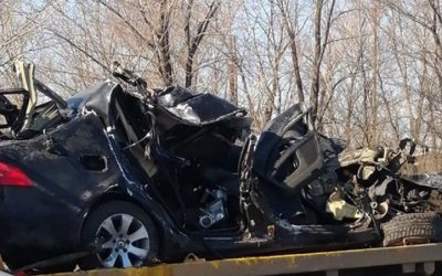 Три человека погибли в ДТП с КамАЗом в Тоцком районе Оренбургской области