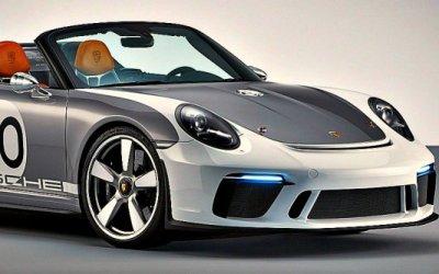 ВНью-Йорке покажут лимитированный Porsche 911 Speedster
