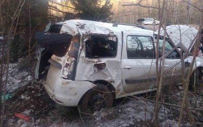 Водитель «Ларгуса» погиб в ДТП в Удмуртии