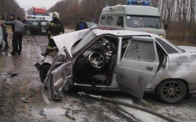 Пять человек пострадали в ДТП в Тульской области