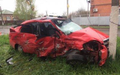 Четыре человека пострадали в ДТП с маршруткой в Краснодарском крае