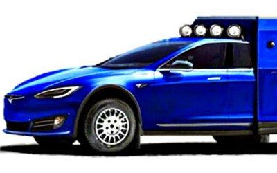 Создан кемпер набазе Tesla Model S