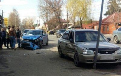 В ДТП в Курске пострадал маленький ребенок
