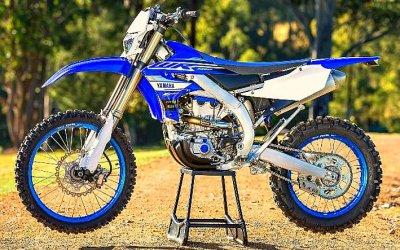 Yamaha WR<nobr>450 °F</nobr>: обновление кюбилею