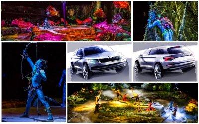 Качественно, красочно, цепляюще – SKODA и Cirque du Soleil