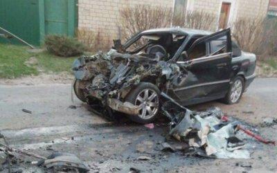 В Почепе в ДТП с автобусом погиб водитель иномарки