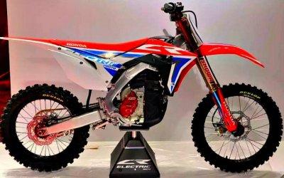 Honda представила пару кроссовых электроциклов
