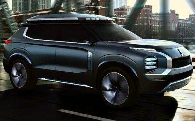 Шанхай-2019: показан вседорожный гибрид Mitsubishi e-Yi