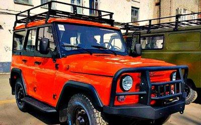 Стильный оранжевый «Хантер»
