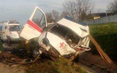 В ДТП со «скорой» в Краснодарском крае погибли два человека