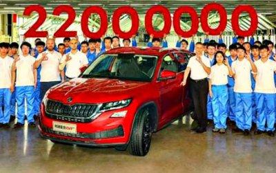 Skoda выпустила 22-миллионный автомобиль
