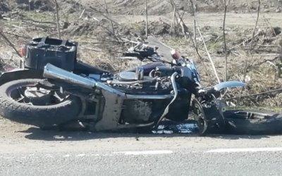 Мотоциклист серьезно пострадали в ДТП во Всеволожском районе Ленобласти