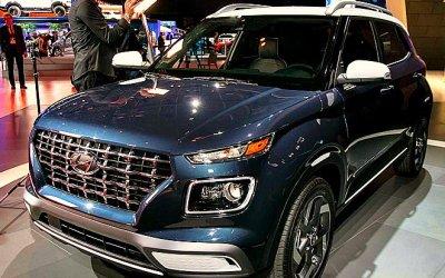 Нью-Йорк-2019: Hyundai представил самый маленький идешёвый кроссовер