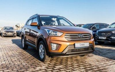 Hyundai CRETA с преимуществом в 309 000 руб.