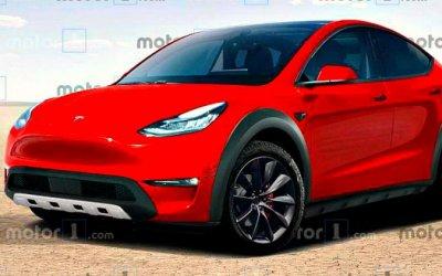 Трансформация Tesla Model Y: изкроссовера— вовнедорожник