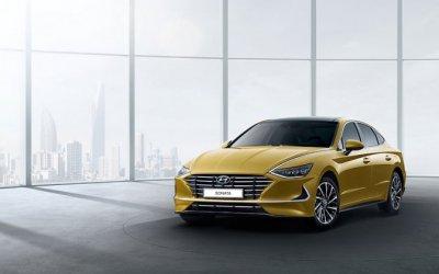 Дебют новой Hyundai SONATA на на Нью-Йоркском международном автосалоне 2019.