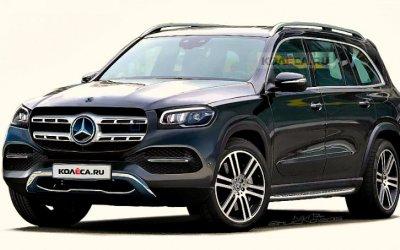 Как выглядит новый Mercedes-Benz GLS?