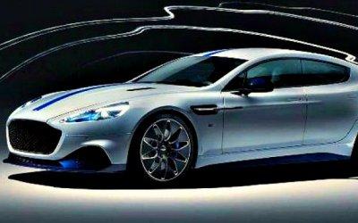 Шанхай-2019: Aston Martin показал свой электромобиль