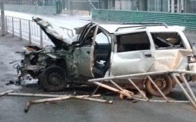 Водитель ВАЗа погиб в ДТП в Тюмени