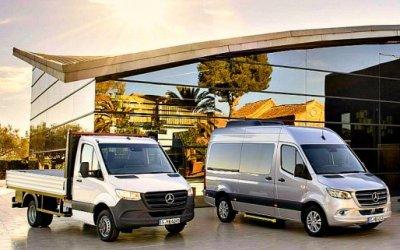 ВРоссию приехал новый Mercedes-Benz Sprinter