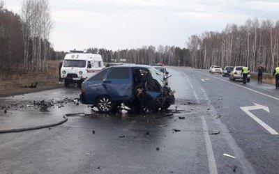 Три человека погибли в ДТП под Томском