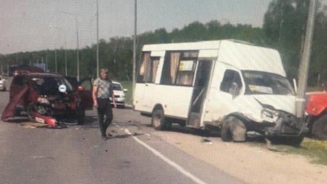Пять человек пострадали в ДТП в Спасском районе Рязанской области (2)