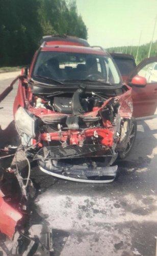 Пять человек пострадали в ДТП в Спасском районе Рязанской области (1)