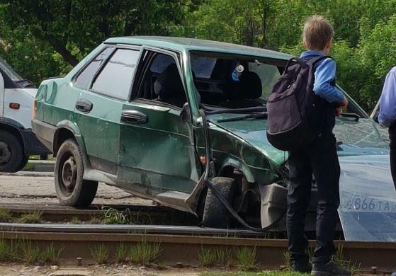 Двое детей и взрослый пострадали в ДТП в Туле (1)