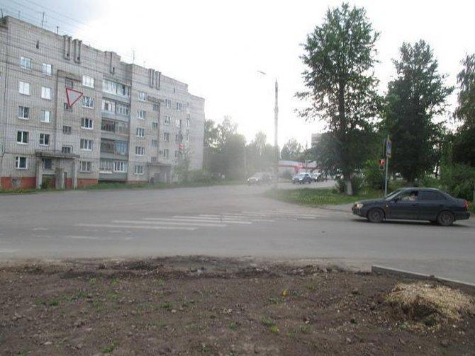 В Туле водитель автомобиля сбил ребенка и скрылся