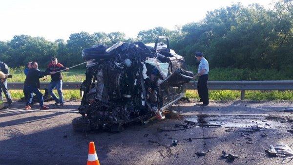 Три человека погибли в ДТП в Курской области (2)
