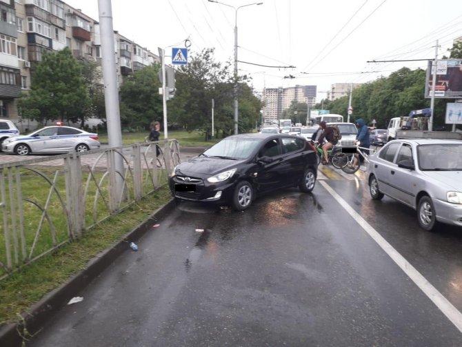 3-летний ребенок пострадал в ДТП вСтаврополе