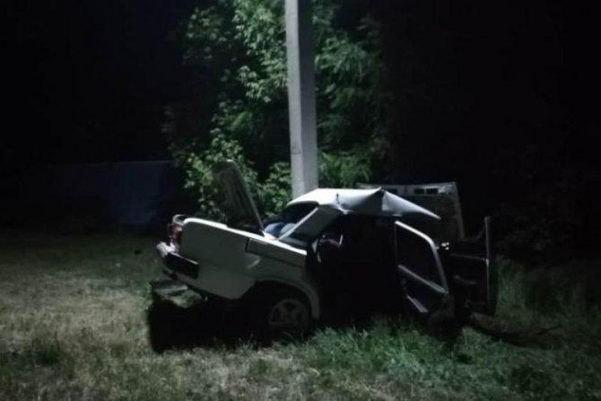 15-летняя девочка погибла в ДТП на Кубани