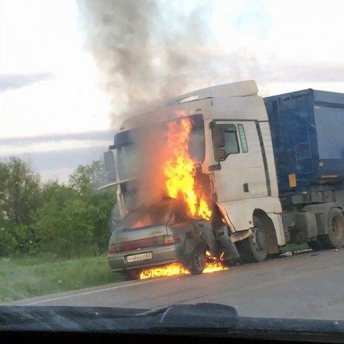 Молодой водитель погиб в ДТП в Пугачевском районе Саратовской области (1)