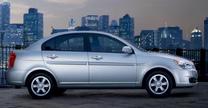 8 Hyundai Accent