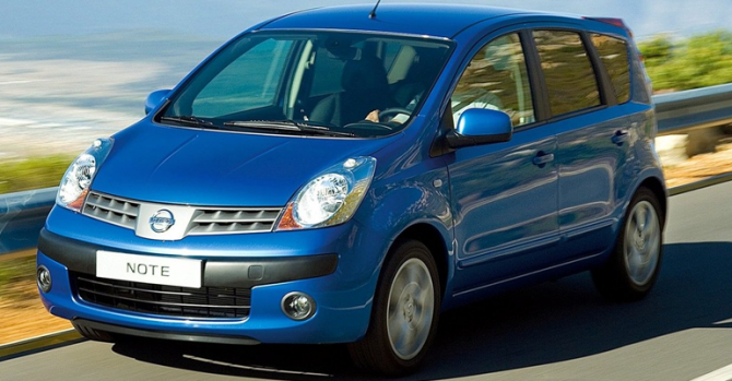 7 Nissan Note
