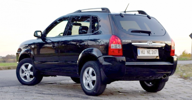 3 Hyundai Tucson