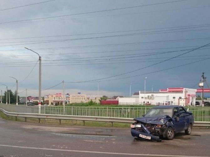 Четыре человека пострадали в ДТП под Воронежем