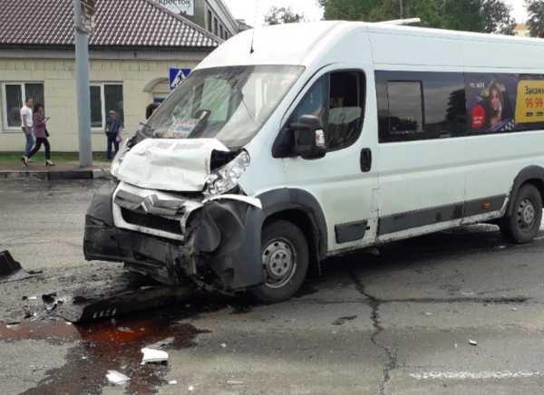 Девочка пострадала в ДТП с маршруткой в Брянске (1)