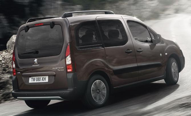 3 Peugeot Partner Tepee