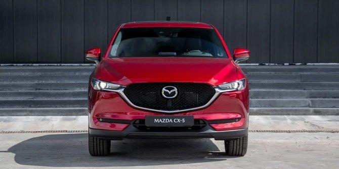 Mazda CX-5 вид спереди