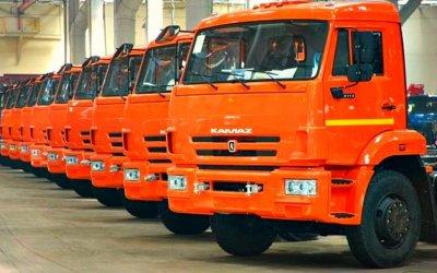 Россия увеличила экспорт грузовиков