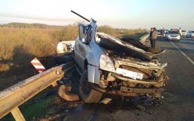 Два человека погибли в массовом ДТП в Рязанской области