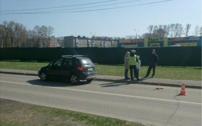 В Новокузнецке автомобиль сбил ребенка