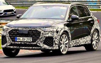 Новый AudiRS Q3 гоняет по«Нюрбургрингу»